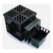 Дождеприемник пластиковый с решеткой 300*300