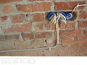Замена и подключение  проводки квартиры открытым способом