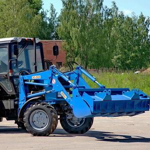 Экскаватор-погрузчик на базе трактора МТЗ