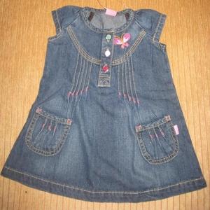 Продам джинсовое платье-сарафан  6м (74 см),