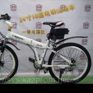 Электровелосипед складной,  горный.