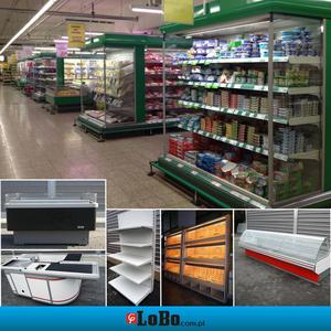 холодильное торговое оборудование б/у стеллажи