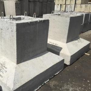 Блоки фундаментные стаканного типа
