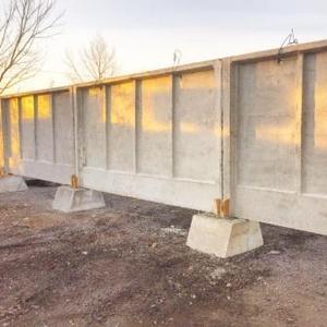 Забор железобетонный (панель)