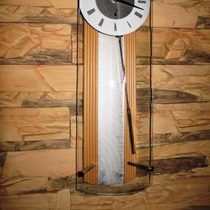 деревянные настенные часы с маятником модель 2213 G