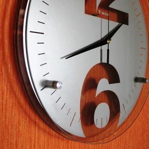 стеклянные настенные часы модель 6106