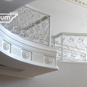 Орнаментальные фризы из гипса