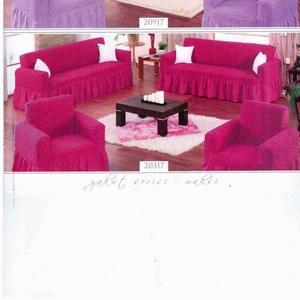 чехлы на резинке для дивана,  кресла и стулья