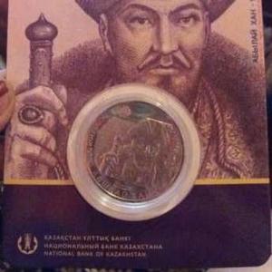 продам  монету Абылай хан 100 тенге низильбер в количестве
