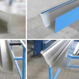 Оборудование для производства фигурного водосточного желоба