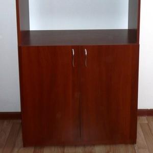 Шкаф офисный для бумаг полузакрытый