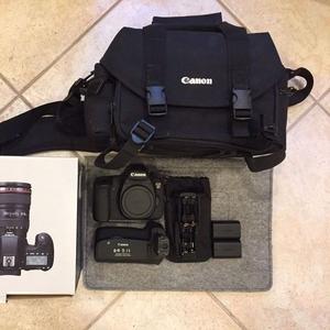 Canon EOS 6D 20.2 MP DSLR.