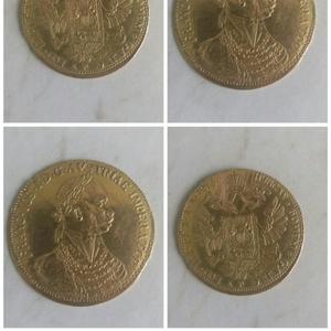 Продам золотую монету короля Австро Венгрии 1913 года
