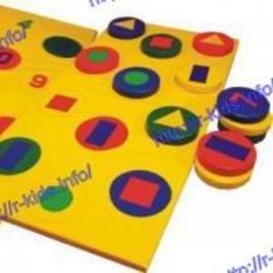 R-KIDS: Развивающий детский мягкий игровой модуль KMI-104