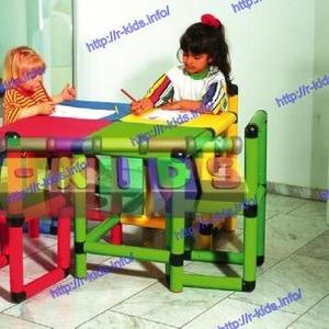 R-KIDS: Детский игровой стол и 4 стула KDM-001