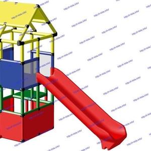 R-KIDS: Детский игровой комплекс KDK-019