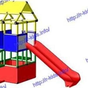 R-KIDS: Детская игровая площадка для дачи KDK-023