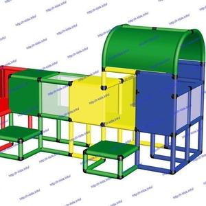 R-KIDS: Детский игровой комплекс для детей KDK-035