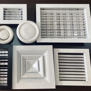 Вентиляционные решетки (RAR/RAG/RAD),  диффузоры