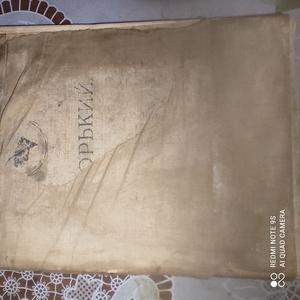 Книга Горького 1938 года
