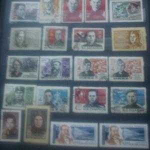 Продам марки почтовые СССР