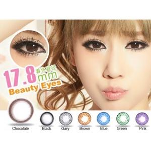 Цветные линзы для увеличение глаз (нулевки)