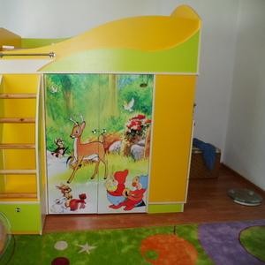 Продая яркий детский уголок-кровать