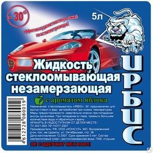 Незамерзайка Ирбис -30 (5 литров)
