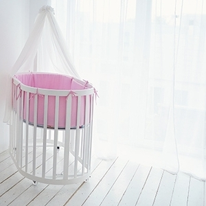 Овальная детская кроватка трансформер 6 в 1