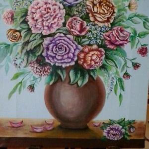 Картины маслом,  выполняем  роспись стен.