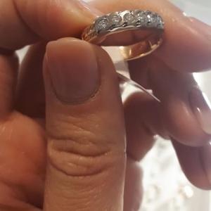 Продаю кольцо с бриллиантами ССР 583 пробы
