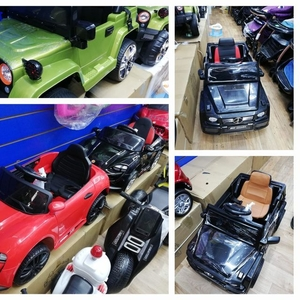 Детские электромобили новые